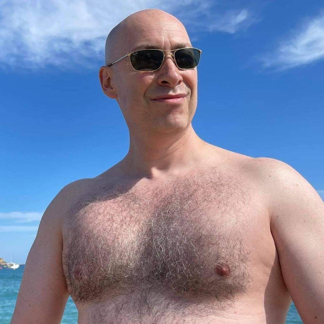 Дмитро Гордон показав голий торс