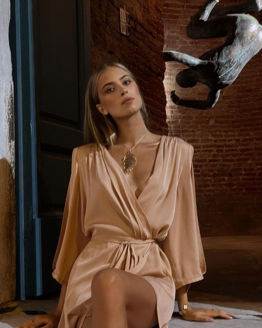 Софія Євдокименко в пікантному вбранні без білизни