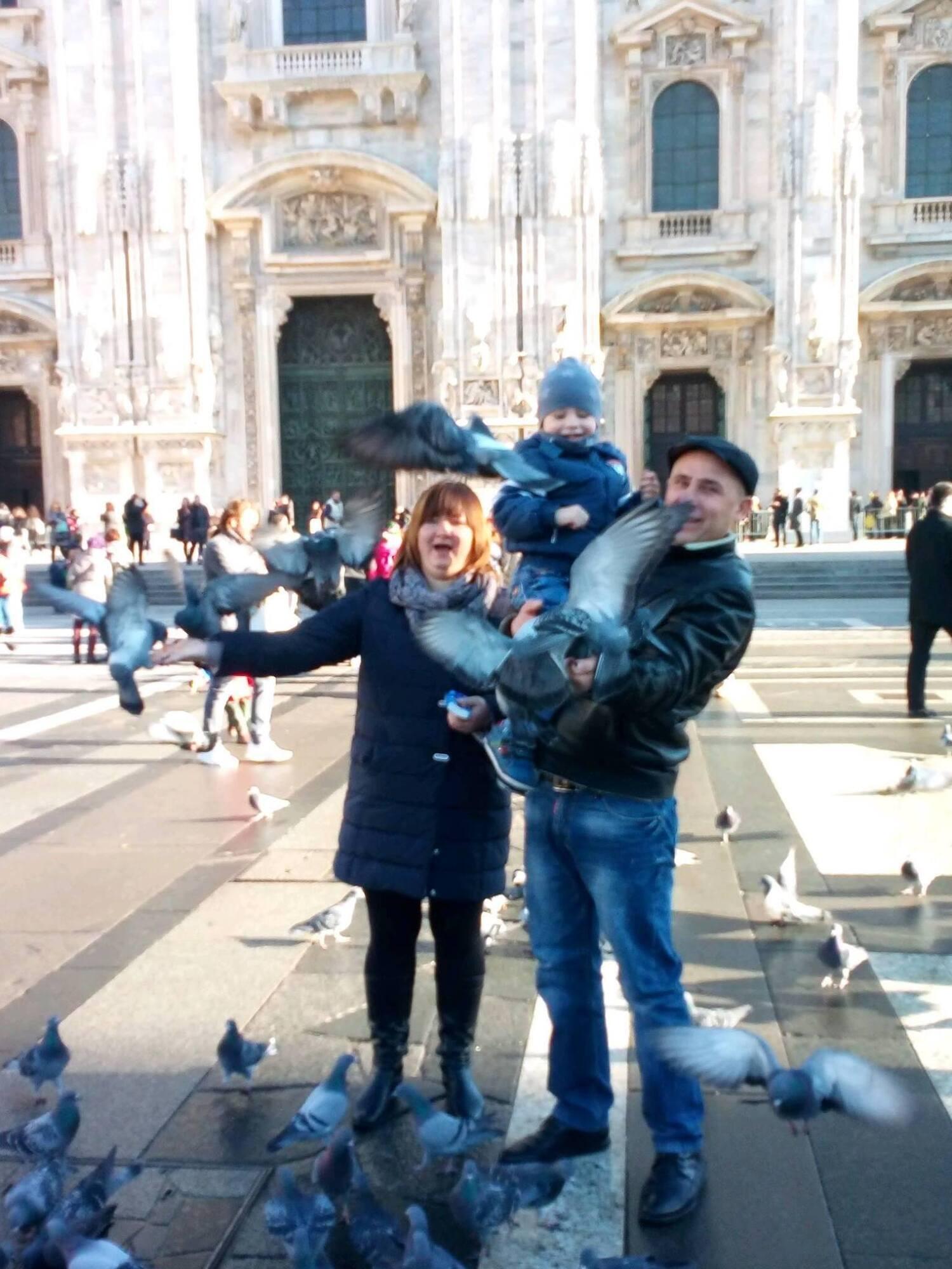 Сім'я вже кілька років живе в Італії