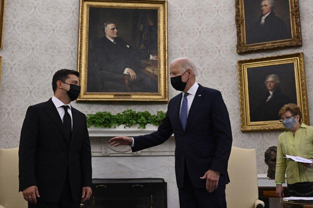 Глава України з американським колегою в Білому домі
