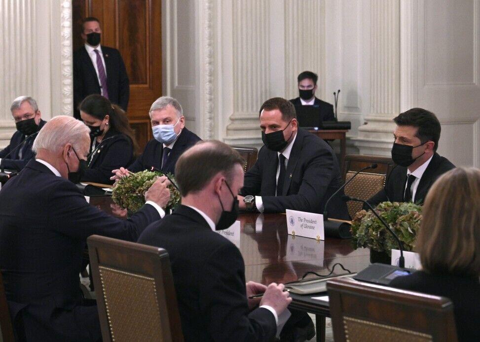 У Вашингтоні також поспілкувалися з українською делегацією