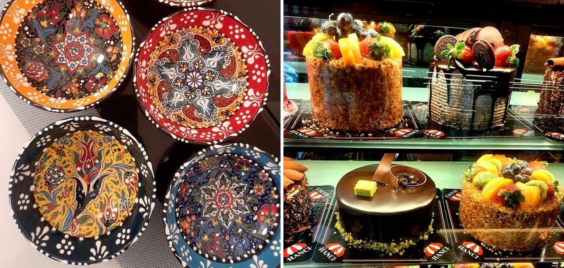 Сувениры и сладости в местных лавках на любой вкус.