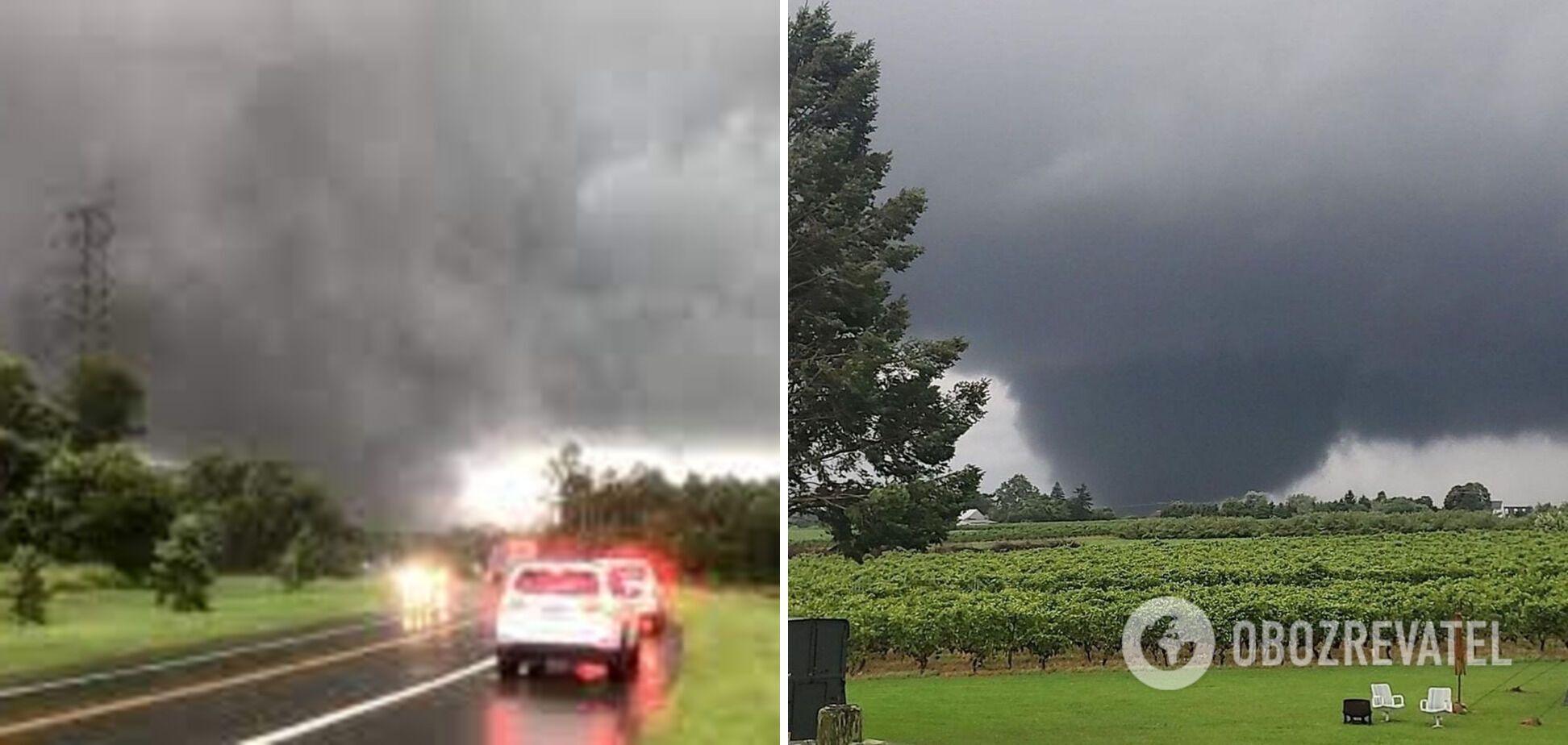 Торнадо в Нью-Джерсі