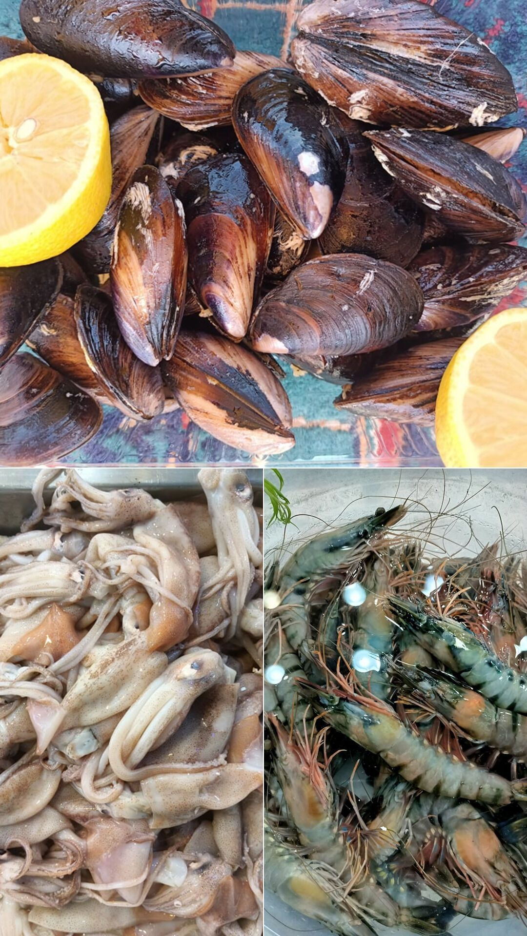 На местном рыбном рынке все самое свежее.