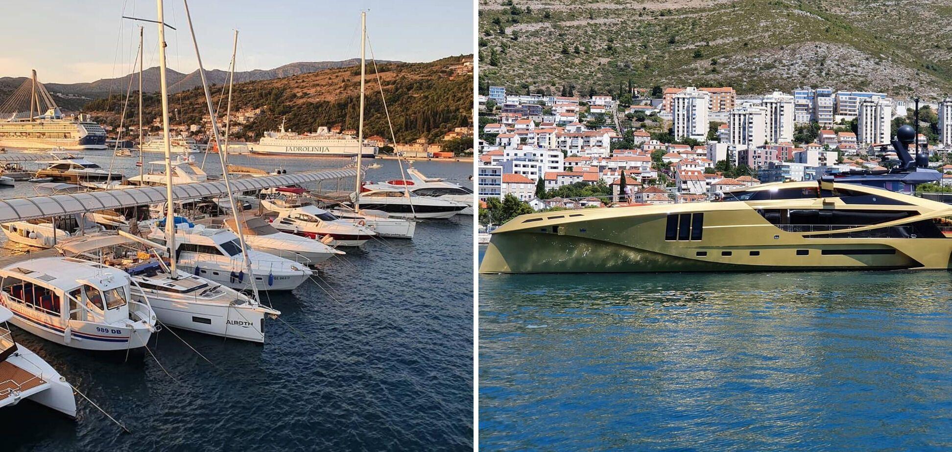 У Хорватії багато марин, де можна взяти яхту. Як бюджетний варіант, так і фешенебельне велике судно.