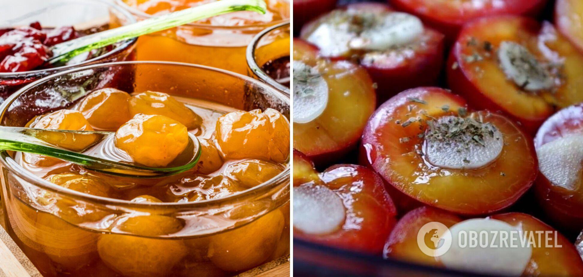 Маринованные сливы с медом без сахара