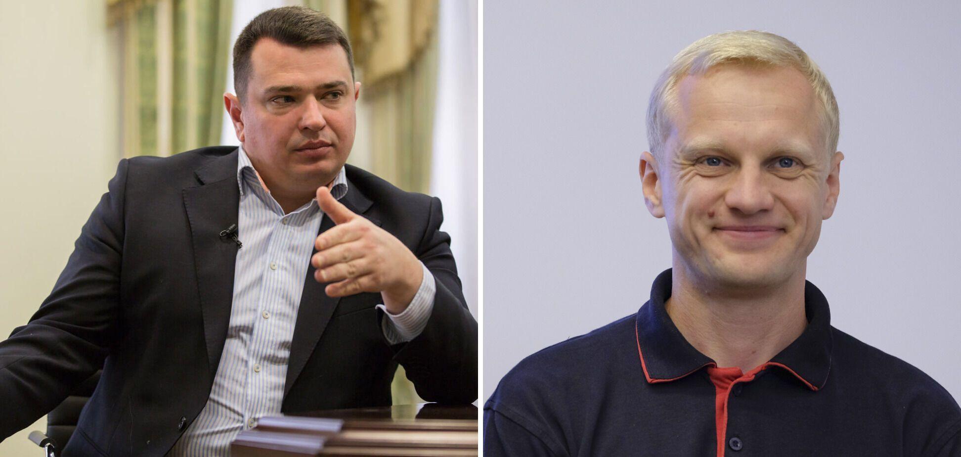 Артем Сытник и Виталий Шабунин заявили о давлении на конкурсную комиссию