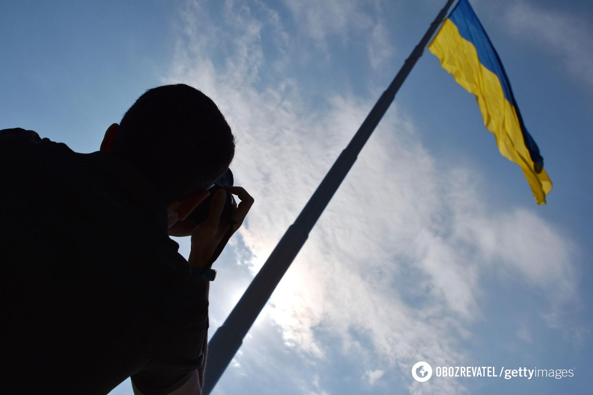Украинские воины – патриоты на деле