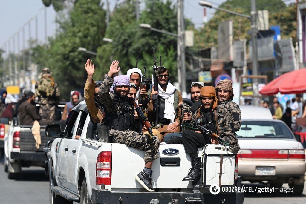 Таліби в Кабулі