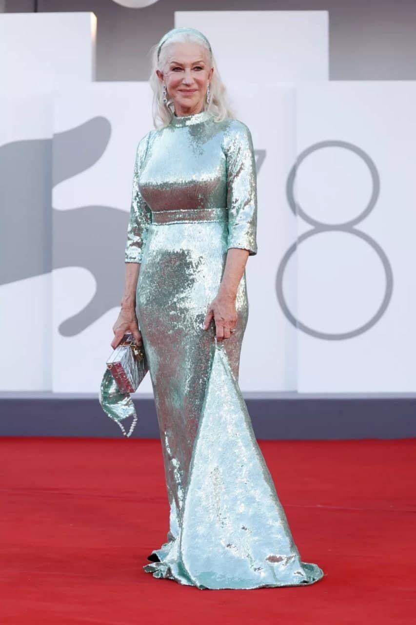 Хелен Миррен появилась в образе от Dolce & Gabbana