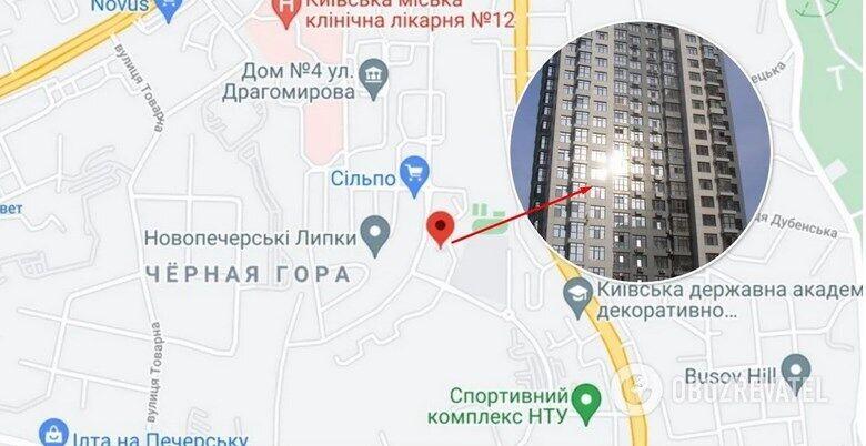 """Крадії обчистили квартиру в """"Новопечерських Липках"""""""