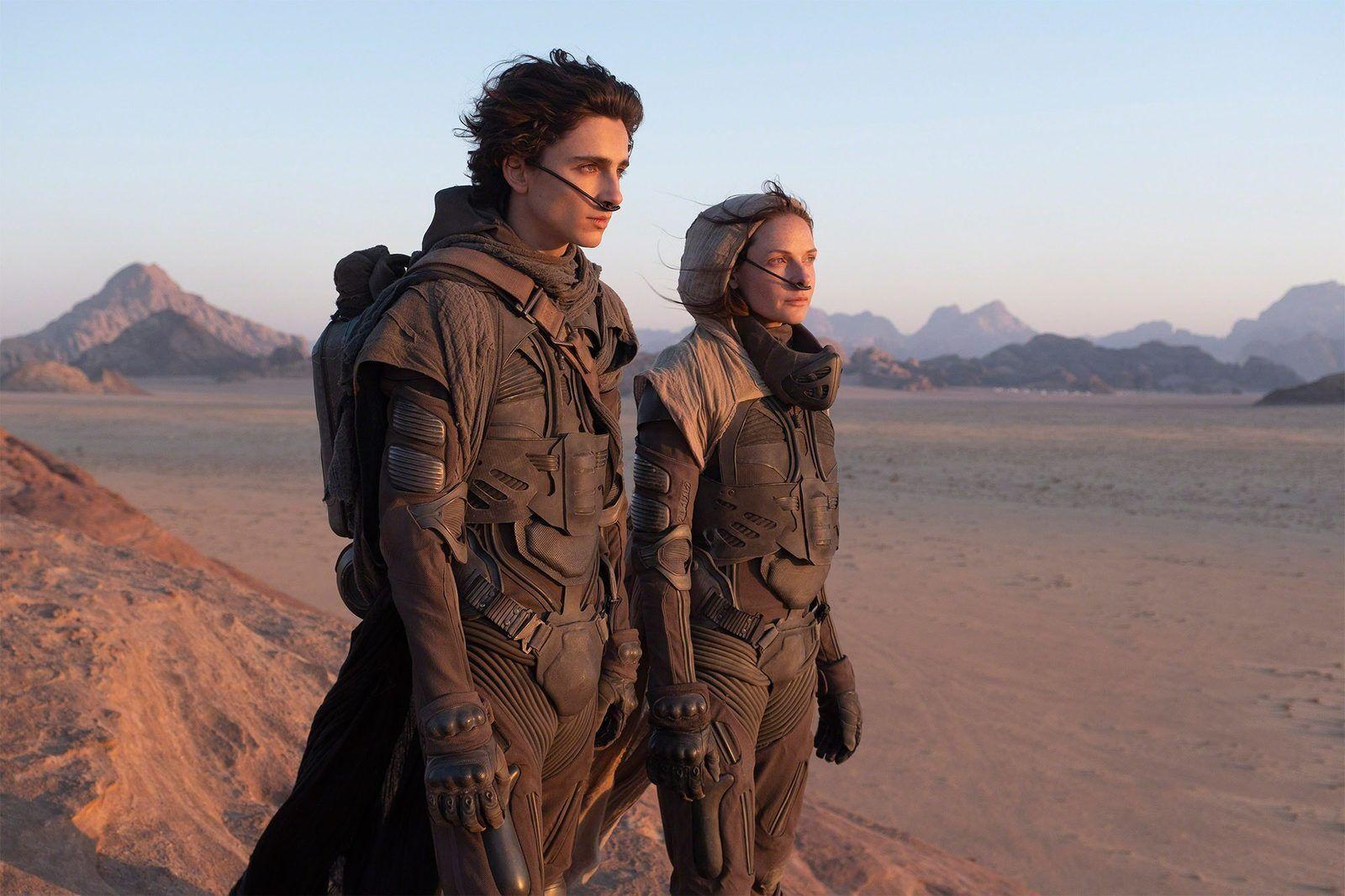 Главные герои на планете Арракис