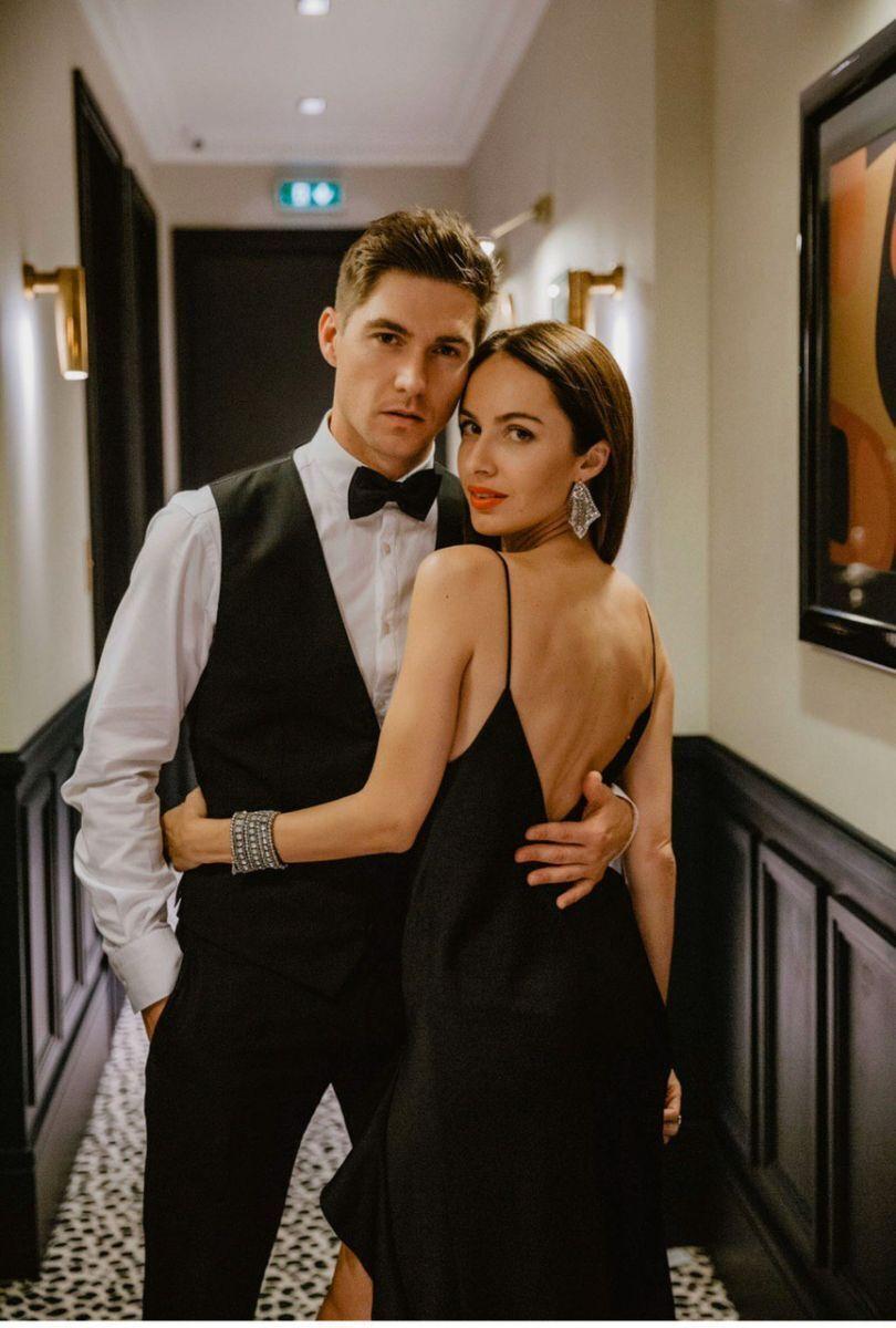 У 2020 році Остапчук познайомився зі своєю новою коханою Христиною Горняк