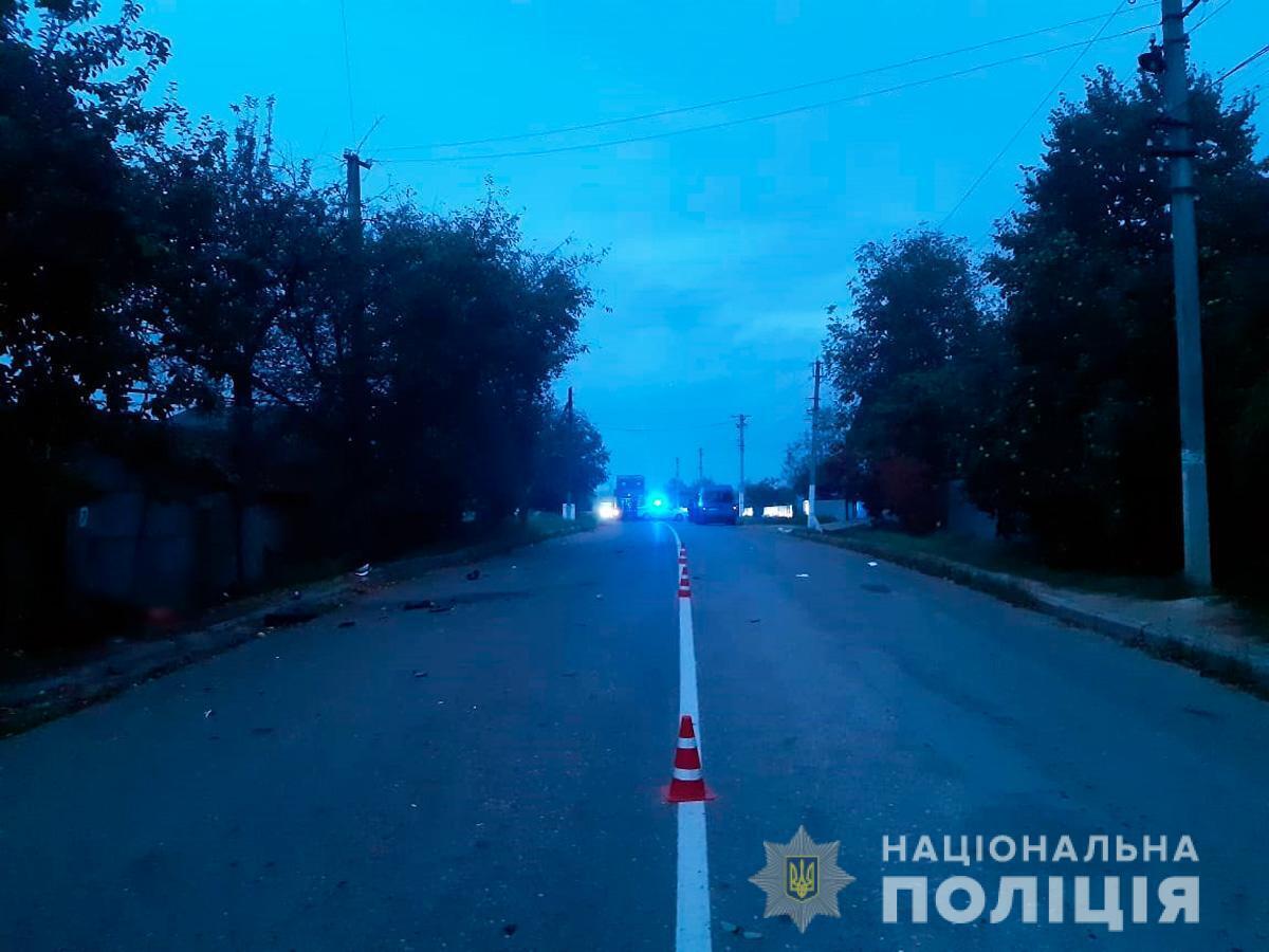Дорога в Дністровському районі.