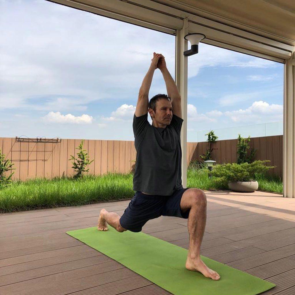 Святослав Вакарчук займається спортом