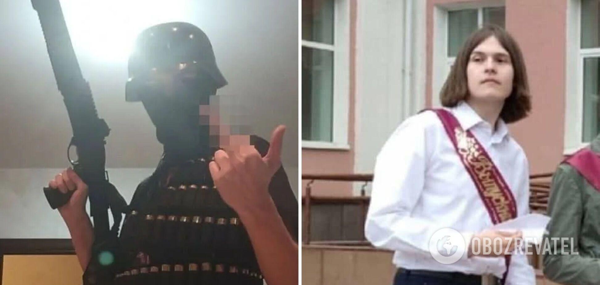 Підозрюваний у нападі на вуз у Пермі Тимур Бекмансуров