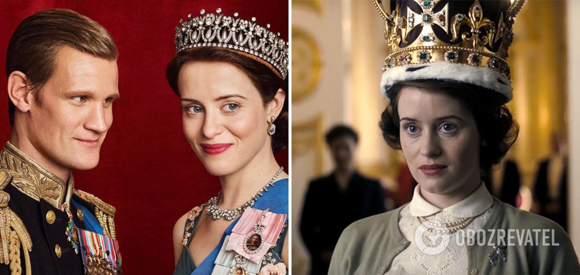 """1 сезон серіалу """"Корона"""", де Єлизавета II стає королевою."""