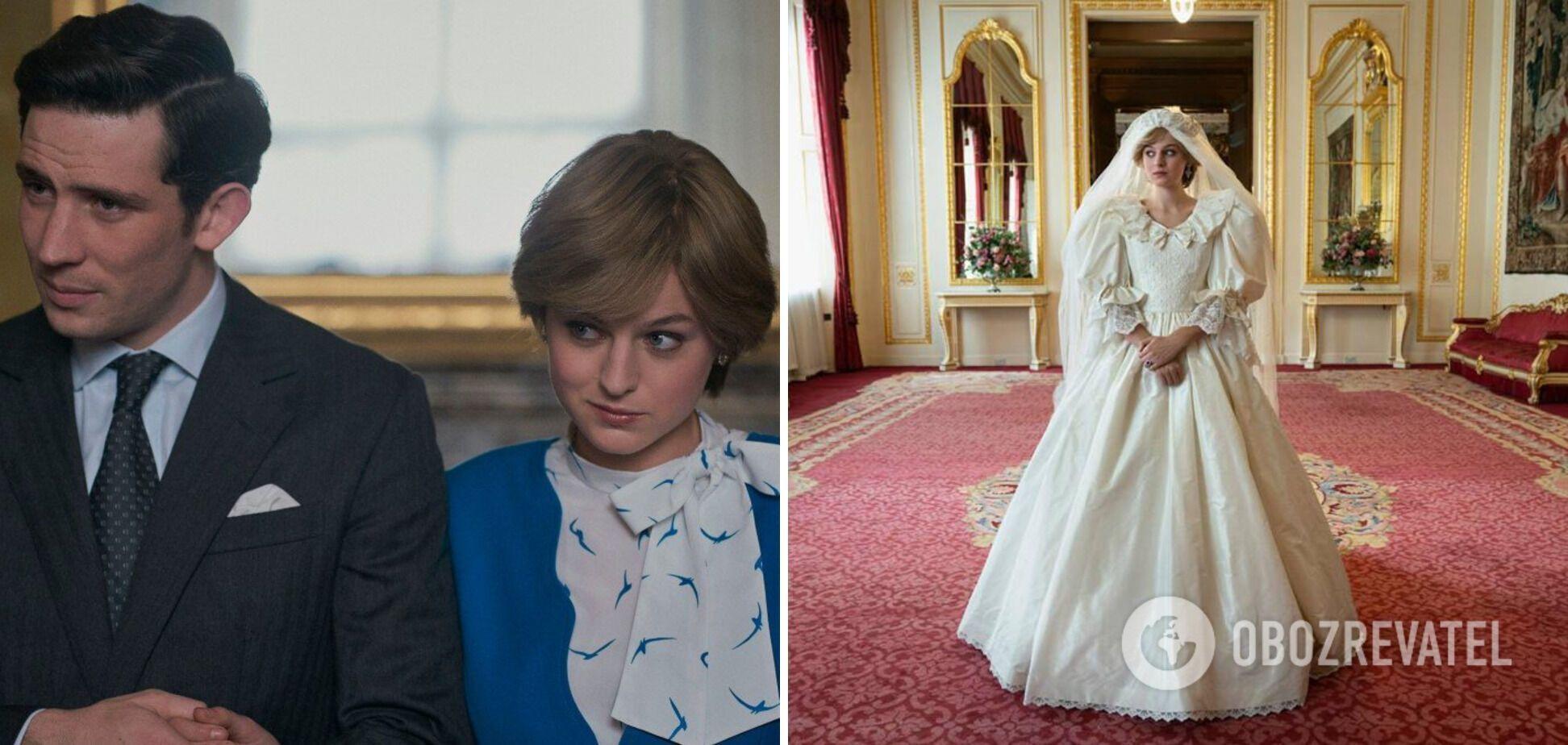 У 4 сезоні принц Чарльз одружився з Діаною