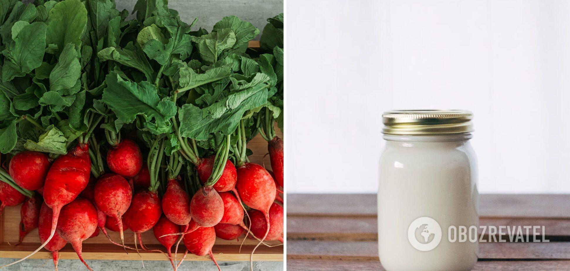Редис та йогурт – непоєднувані продукти