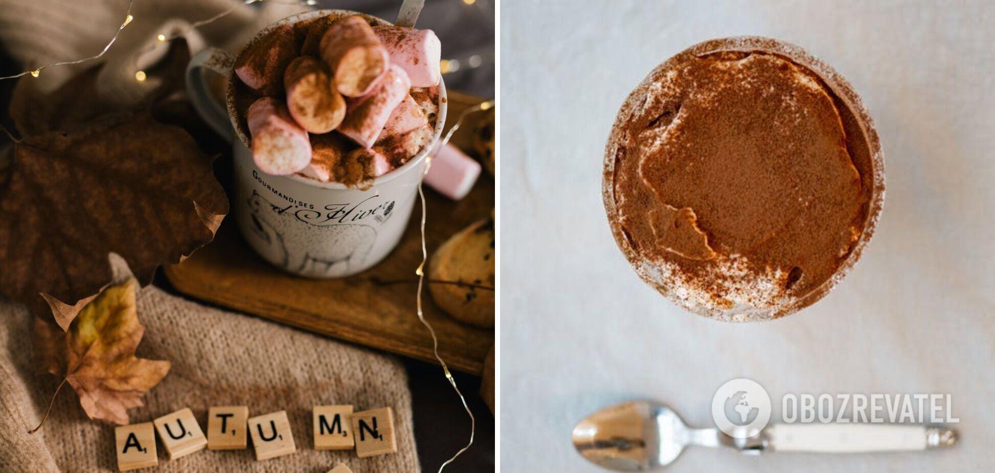 Горячий шоколад на основе какао
