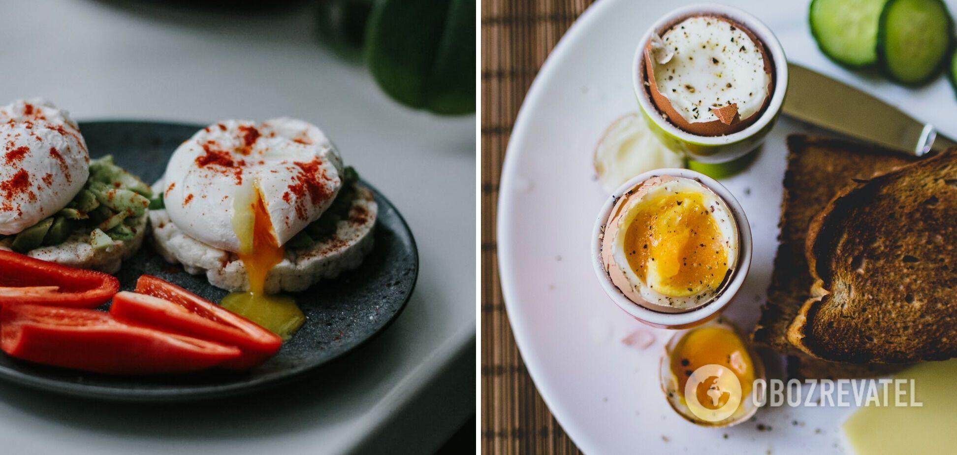 Яйце пашот без оцту та плівки