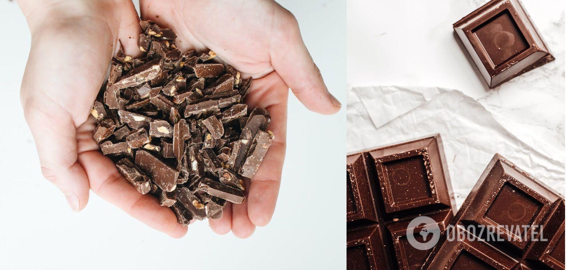 Не можна зберігати в холодильнику – шоколад