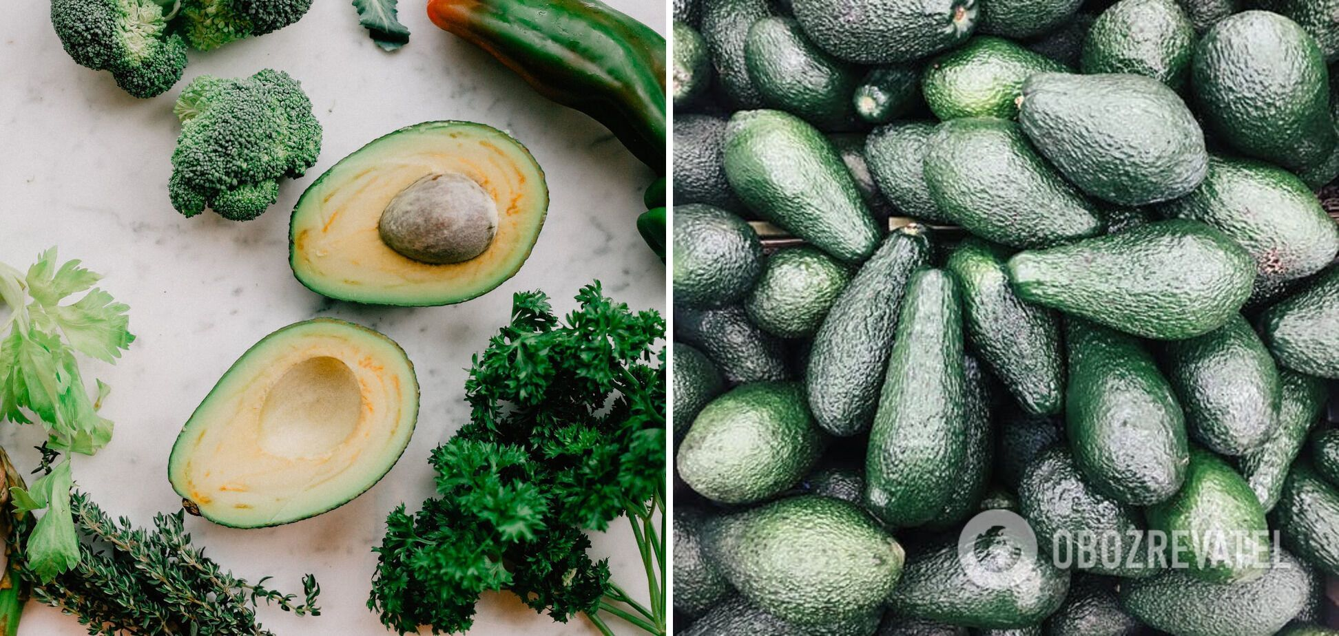 Не можна зберігати в холодильнику – авокадо