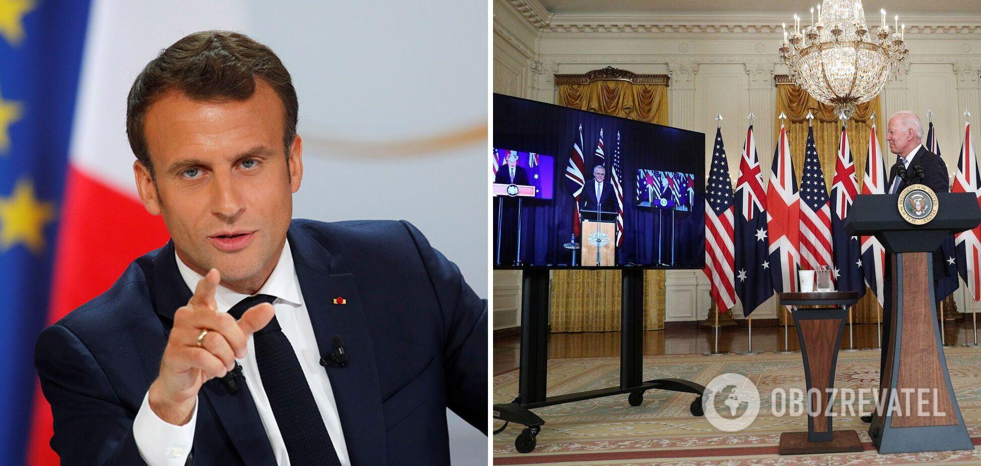 Франция учтет создание AUKUS при разработке новой стратегической концепции НАТО