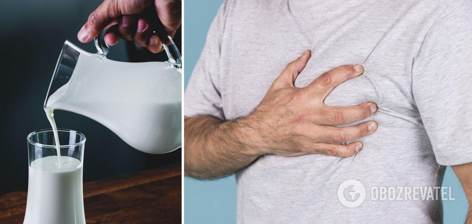 Вживання молока може знизити ризик серцевих захворювань на 14%, – вчені