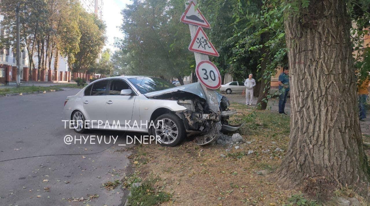 Водій BMW був у стані алкогольного сп'яніння