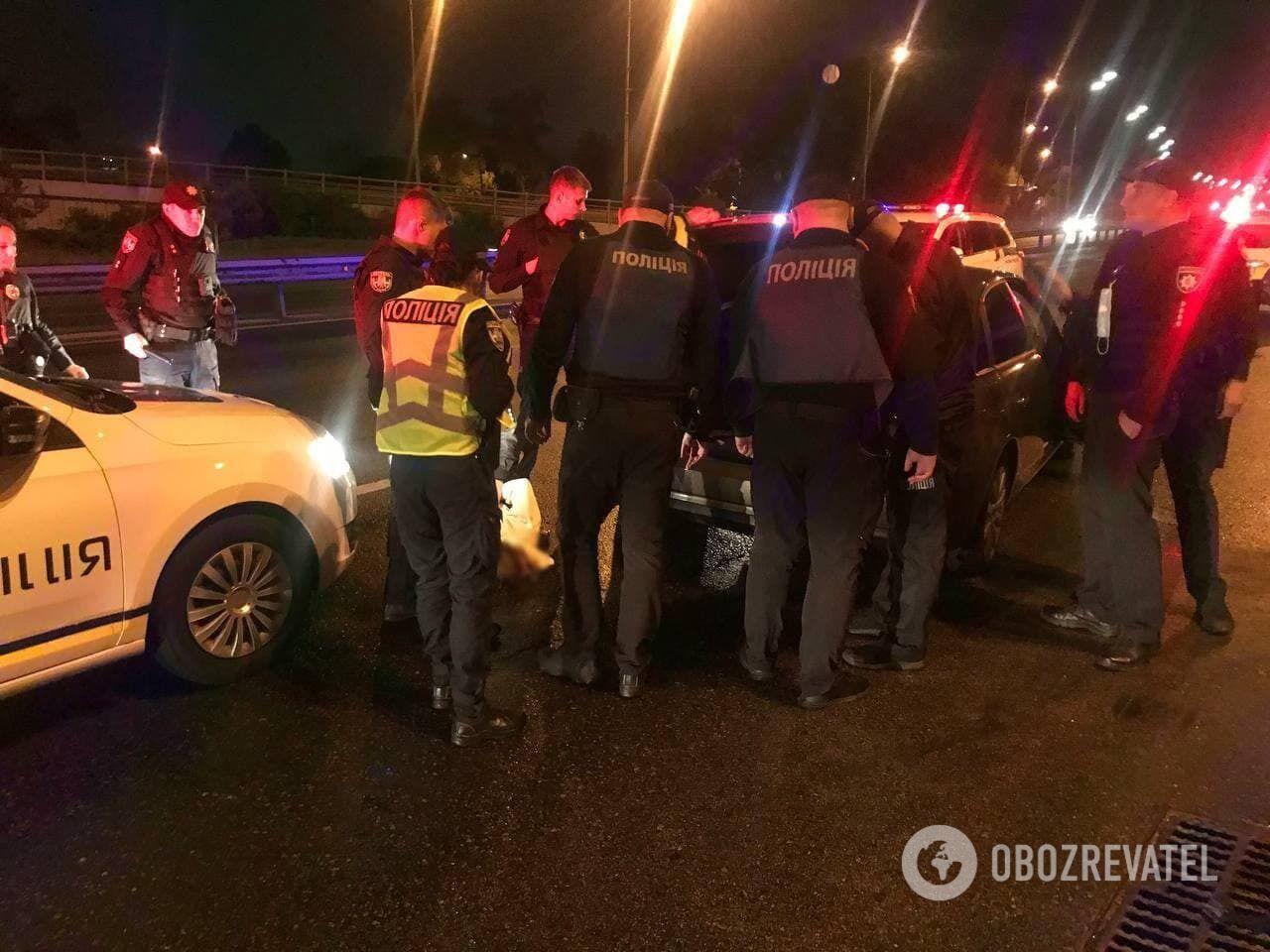 Зловмисника затримали в Печерському районі столиці.