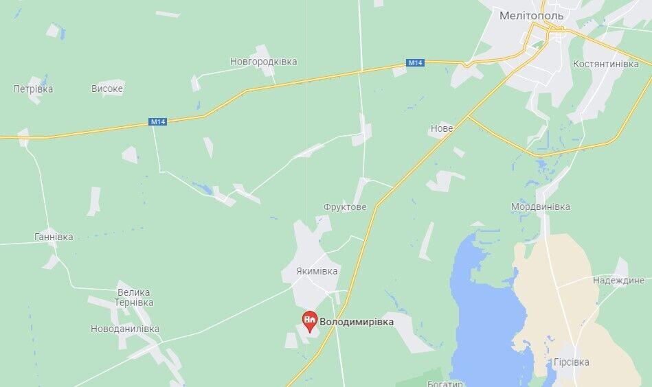 Злочин трапився в с. Володимирівка Мелітопольського району