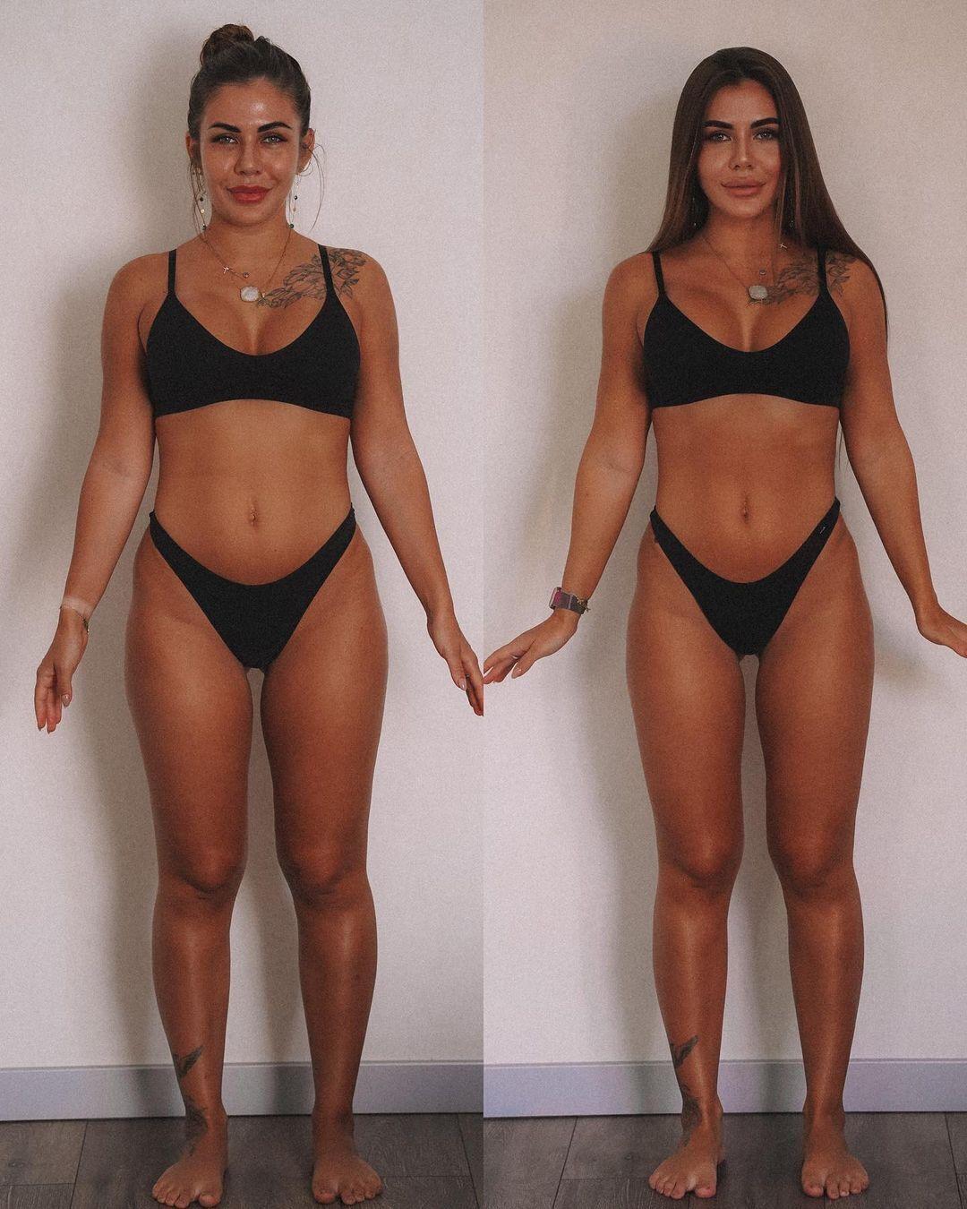 Пример похудения Софии Стужук.