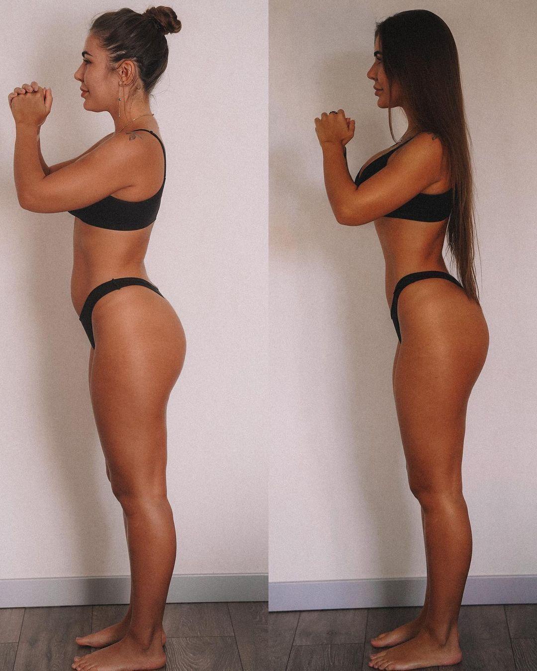 Стужук до и после похудения.