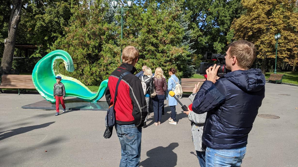 Звуки Харькова – это прыжки на скейте, вспышка фейерверков и ряд других