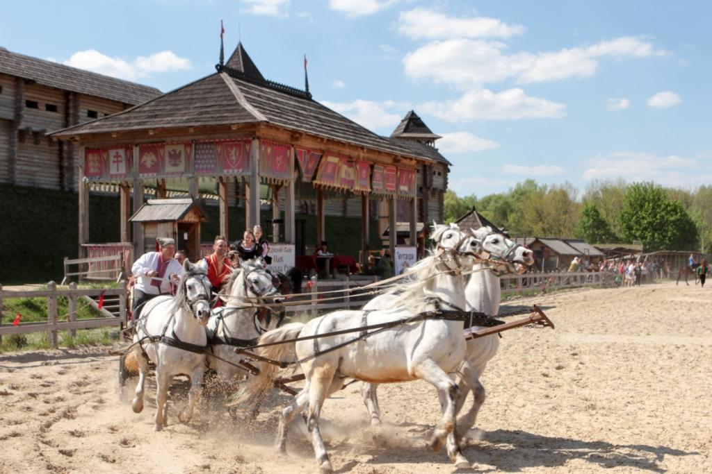 На Киевщине пройдут соревнования конных каскадеров