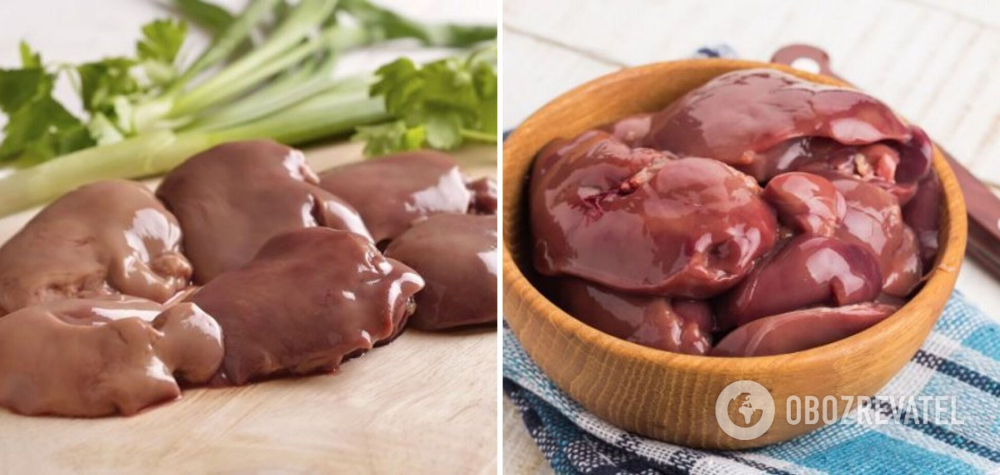 Качественная печень из курицы и индейки