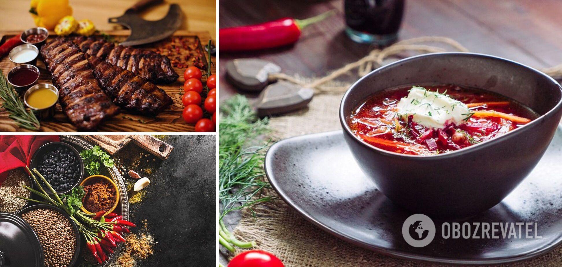 Ингредиенты для наваристого бульона – ребра и специи