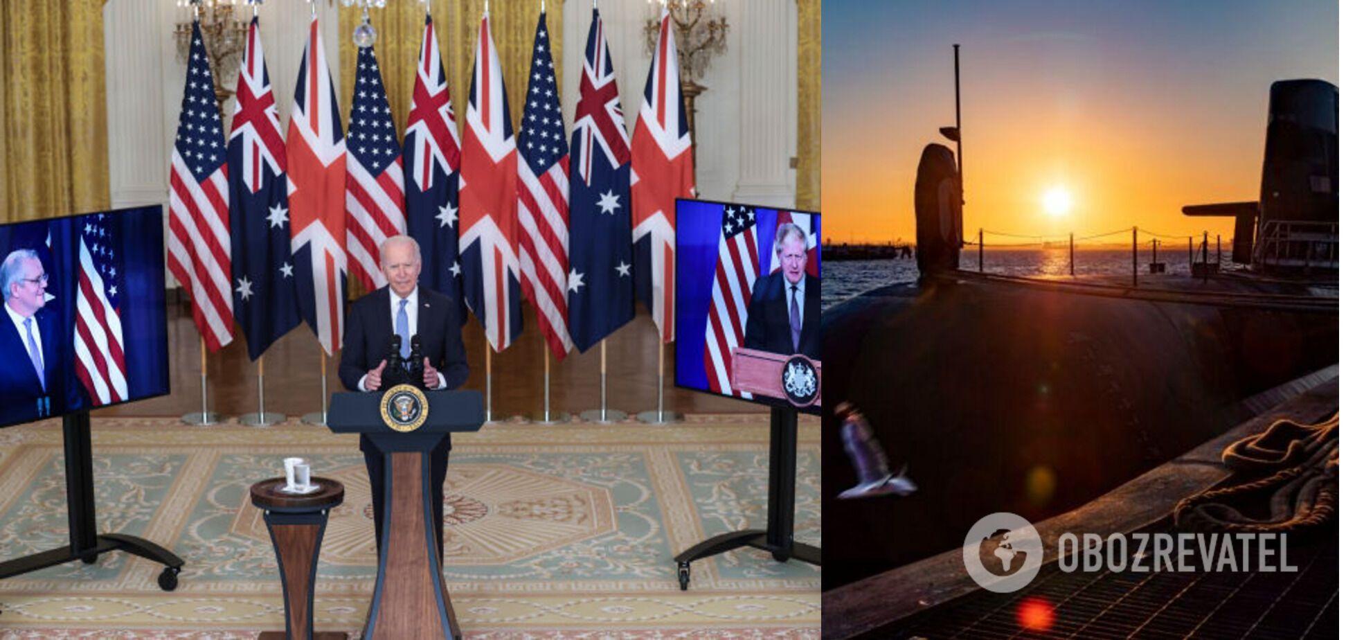 Австралия, США и Британия заключили новый оборонительный союз – AUKUS