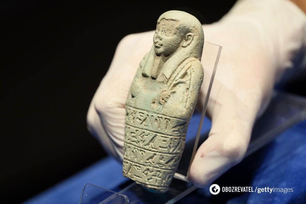 Статуэтки ушэбти из Египта