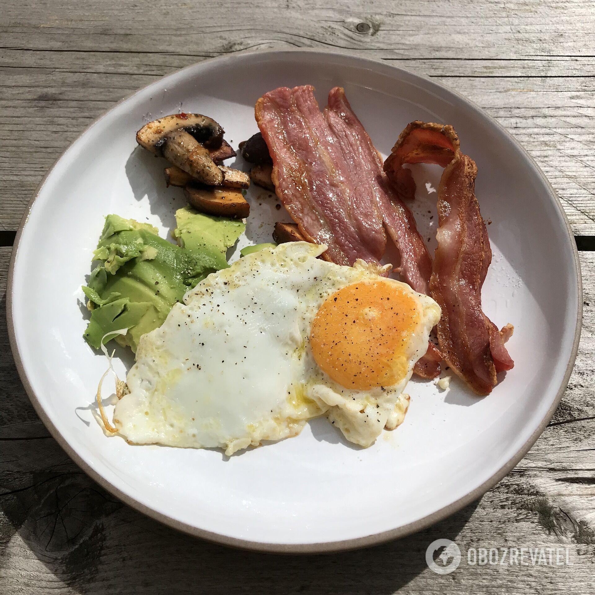 Сніданок готується дуже швидко
