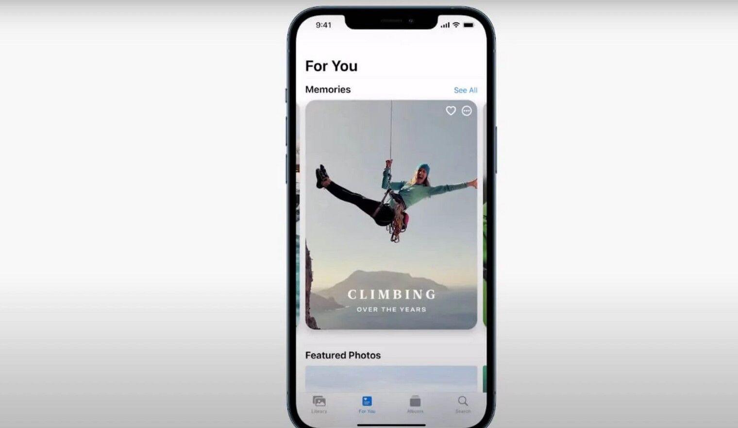 """В додатку """"Фото"""" можна додавати музику в """"Спогади"""" з Apple Music, змінювати темп"""