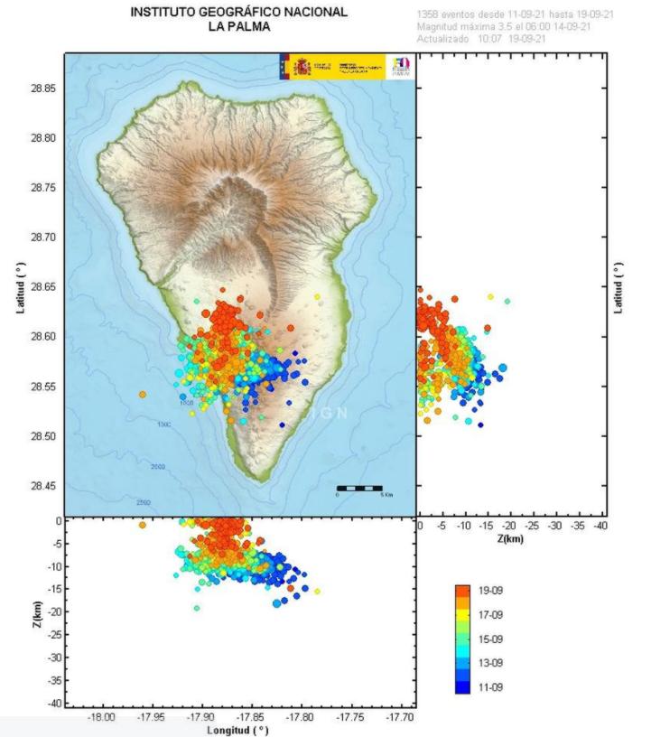 Виверження вулкана, яке вже призвело до масштабних руйнувань на Канарських островах, у понеділок, 20 вересня, продовжиться.