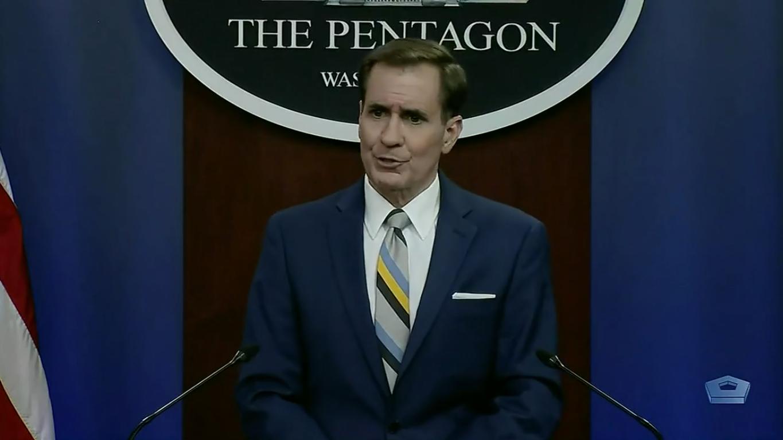 Джон Кирби на пресс-конференции