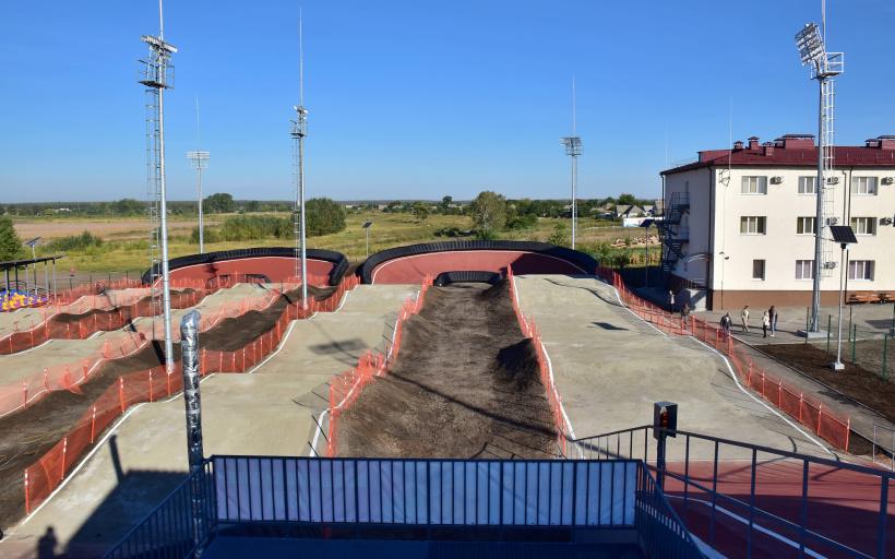 Восени на новому треку відбудеться перший відкритий обласний чемпіонат з BMX.