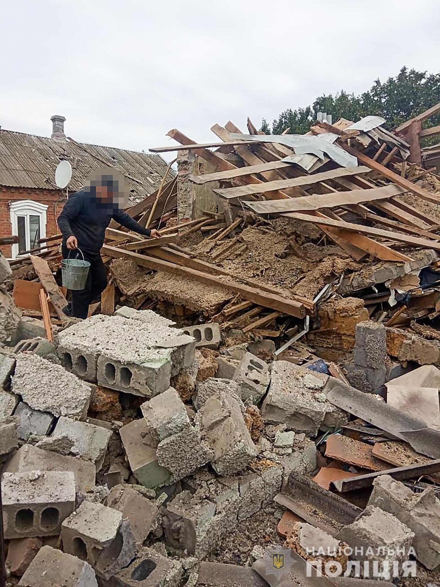 Двоповерховий будинок було зруйновано