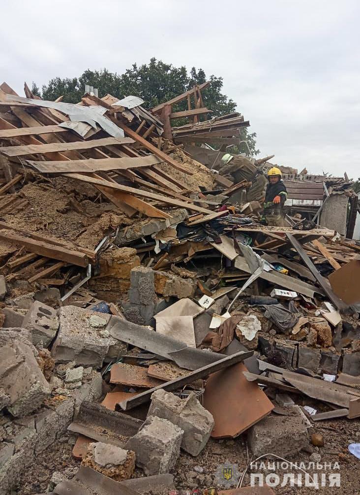 З-під уламків зруйнованого будинку витягли його власника