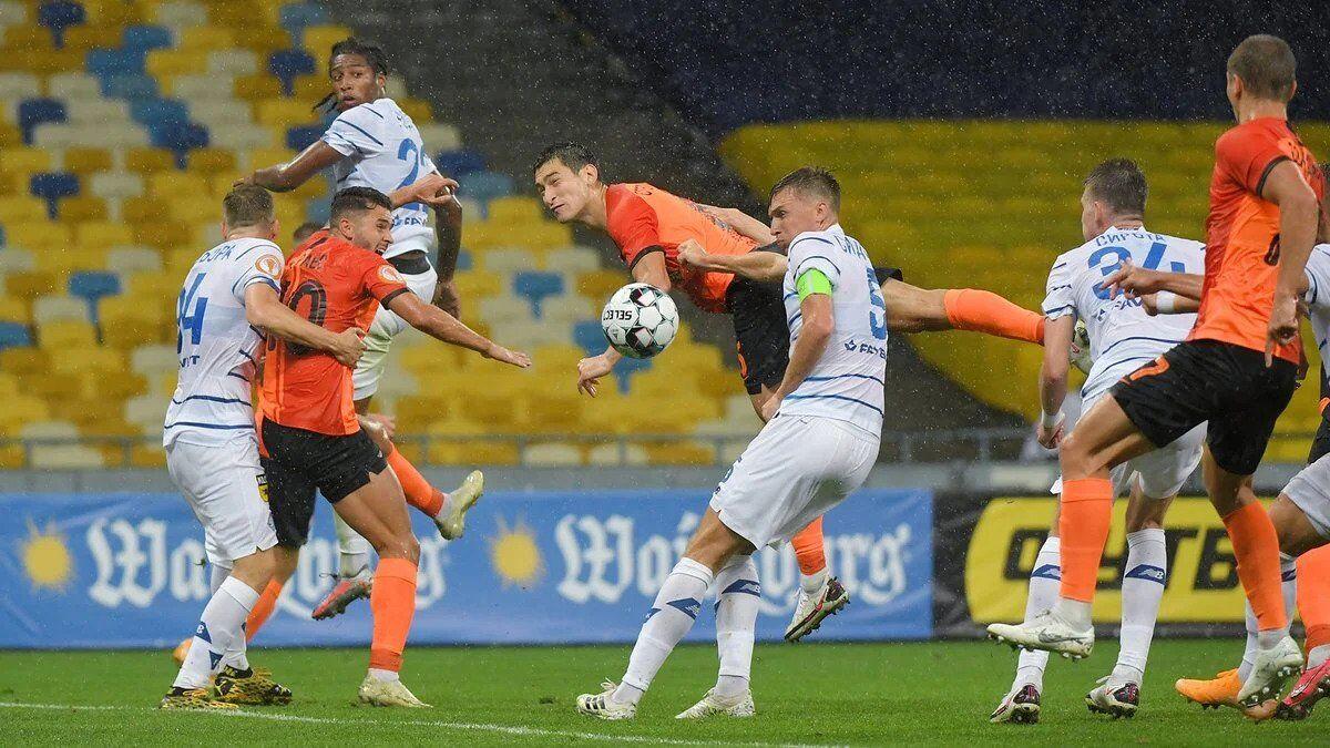 Шахтер Динамо прогноз на Суперкубок Украины 2021
