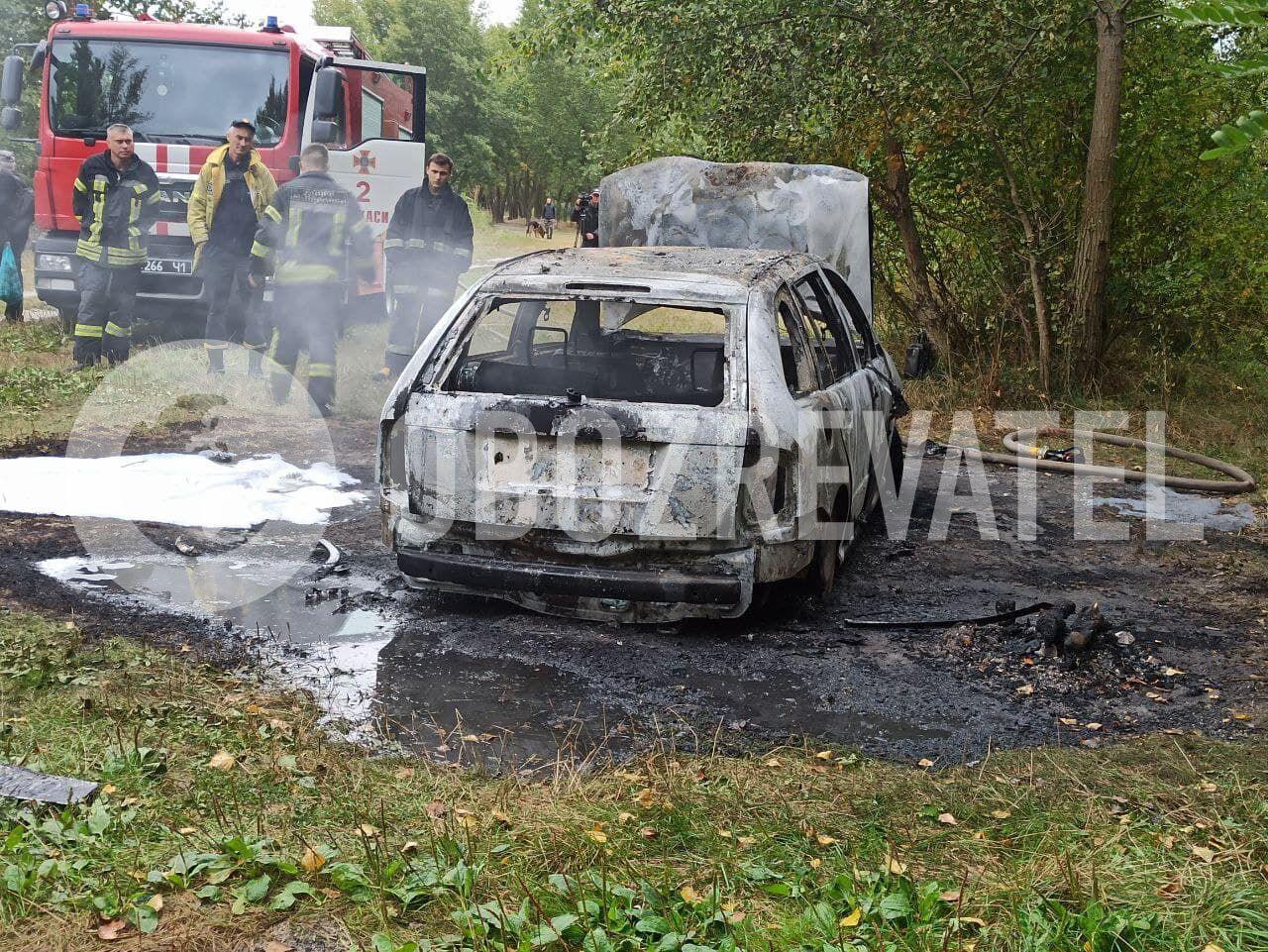 Обгоріла Skoda