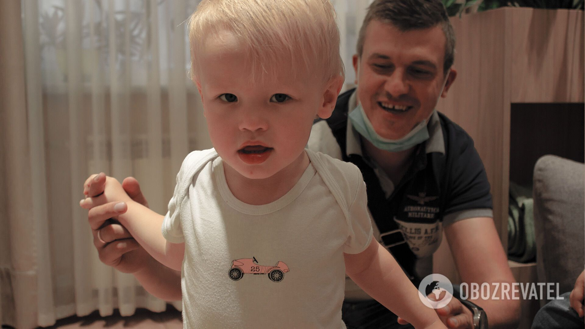 Виктор с сыном